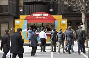 Chapati Man at Broadgate 4