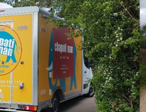 Chapati Man's new food truck arrives in the capital!