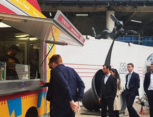 Chapati Man's new food truck booms Broadgate Circle!