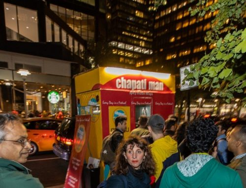 Chapati Man NYC launch snaps!